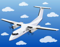 Aircraft vector illustration