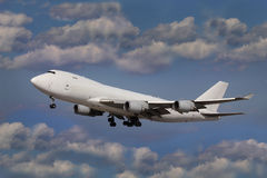 Boeing 747 Jumbo jet Royalty Free Stock Photography