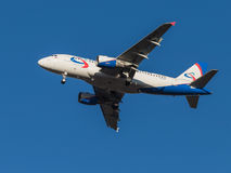 Aircraft Airbus A319, airlines Ural Airlines Stock Images