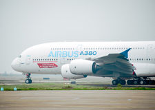 A380 Aircraft Stock Photos