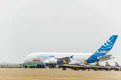 A380 Aircraft Stock Photography