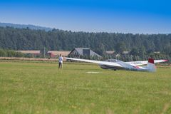 Aircraft, Airplane, Flight, Glider royalty free stock photography