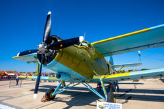 Aircraft Antonov An-2 Royalty Free Stock Photography