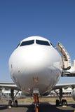 Aircraft. / Baggage Loading/Unloading procedure stock photo