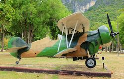 Aircraft. The beautiful and smart aircraft in Thailand Stock Image