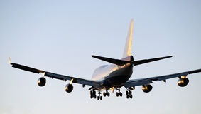 Aircraft Boeing 747 Royalty Free Stock Photography
