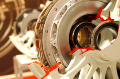 Aircraft brakes Stock Photos