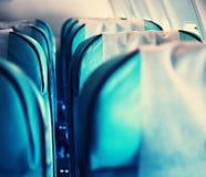 In aircraft Stock Photos
