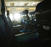 In aircraft Stock Photography