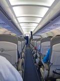 Aircraft cabine Royalty Free Stock Photos