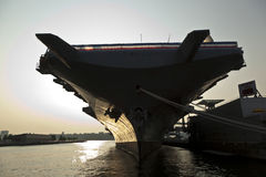Aircraft carrier as museum Royalty Free Stock Image
