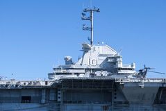 Aircraft carrier Royalty Free Stock Images