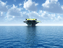 Aircraft Carrier Royalty Free Stock Photos
