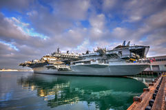 Aircraft Carrier Stock Image