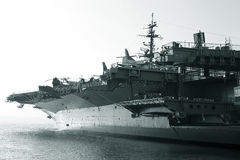 Aircraft carrier Reagan Stock Photography
