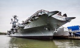 Aircraft carrier USS Intrepid Stock Photos