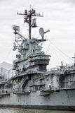 Aircraft carrier USS Intrepid Stock Image