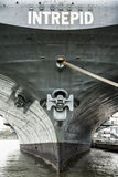 Aircraft carrier USS Intrepid Royalty Free Stock Image