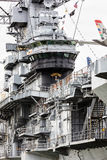 Aircraft carrier USS Intrepid Stock Images