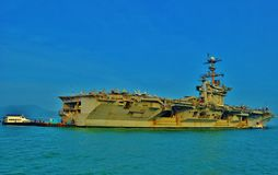 Aircraft Carrier Stock Photography