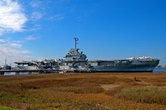 Aircraft Carrier - Yorktown Royalty Free Stock Photos