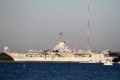 Aircraft Carrier Yorktown. Stock Photos