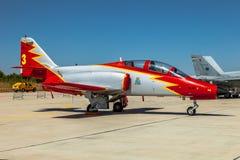 Aircraft CASA C-101 Stock Photo