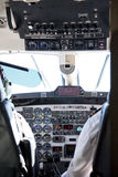 Aircraft Cockpit Royalty Free Stock Photo