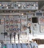 Aircraft cockpit dials Royalty Free Stock Photography