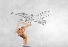 Aircraft concept Stock Photo