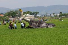 Aircraft crashed Stock Photos