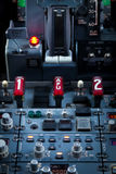 Aircraft Dashboard Panel Royalty Free Stock Photos
