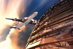 Aircraft, Dome, Berlin, Capitol Royalty Free Stock Photos