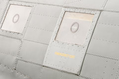 Aircraft emergency exit hatch Royalty Free Stock Photos
