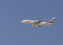 Aircraft of Emirates Stock Image