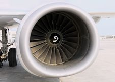 Aircraft Engine Stock Photos