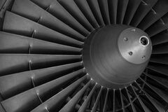 Aircraft engine Stock Image