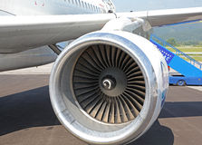 Aircraft engine Stock Photography