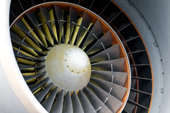 Aircraft engine detail Royalty Free Stock Photo