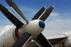 Aircraft engine Royalty Free Stock Images