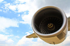 Aircraft engine Royalty Free Stock Photo