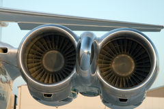 Aircraft engines Royalty Free Stock Photos