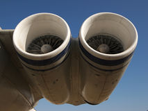 Aircraft engines Royalty Free Stock Photo