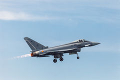 Aircraft Eurofighter Typhoon C-16 Royalty Free Stock Images