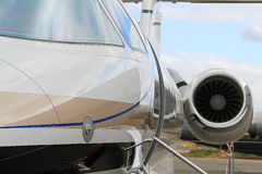 Aircraft. The Executive jet for comfort Stock Image