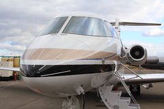 Aircraft. The Executive jet for comfort Royalty Free Stock Image