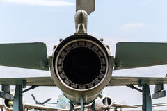Aircraft exhaust nozzle Royalty Free Stock Photography