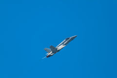 Aircraft F-18 Hornet Royalty Free Stock Photos