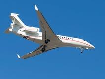 Aircraft Falcon 7x Royalty Free Stock Photos