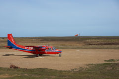 Aircraft - Falkland Islands Royalty Free Stock Photography